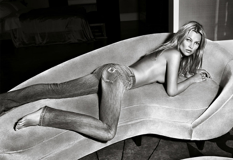 Kate Moss for Liu Jo SS 2012 Campaign